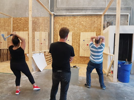 axe throwing getting started