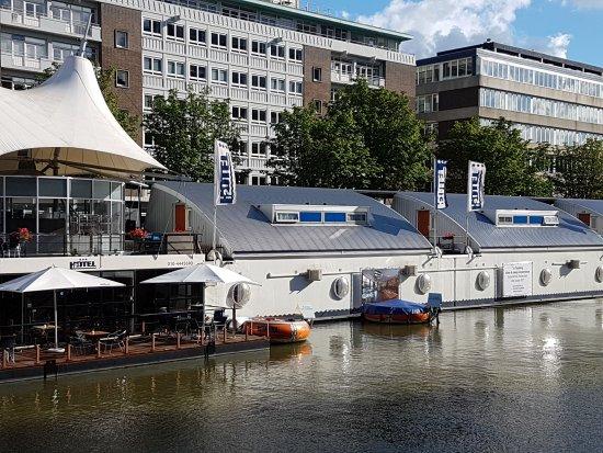 Terrazzo Picture Of H2otel Rotterdam Tripadvisor