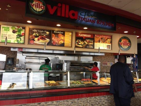 Villa Fresh Italian Kitchen 4098 Newark  Restaurant