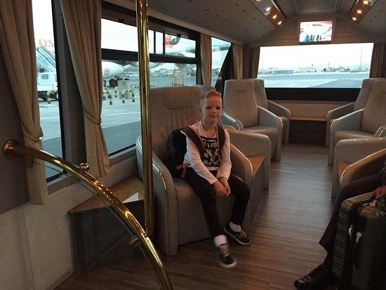 first class bus transfer