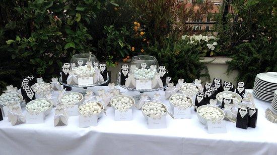 Confettata Matrimonio  Foto di Roof Garden Les Etoiles Roma  TripAdvisor