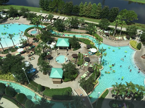 Pools and Lazy River  Picture of Hilton Orlando Bonnet