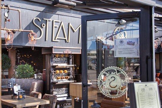 Afbeeldingsresultaat voor bar & grillrestaurant steam