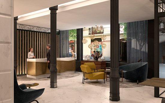 Lobby Picture Of Doubletree By Hilton Madrid Prado