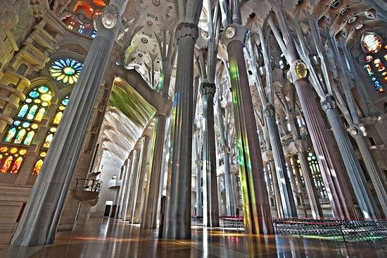 basilica of the sagrada familia sagrada familia interior