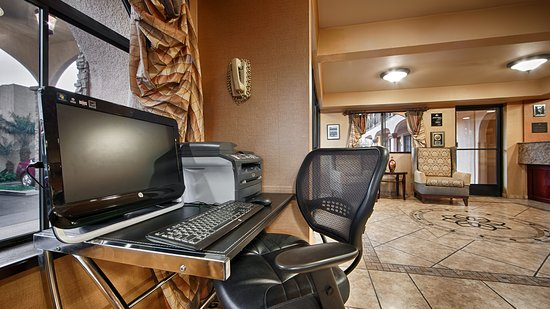 Business Center Picture Of Best Western Los Alamitos Inn