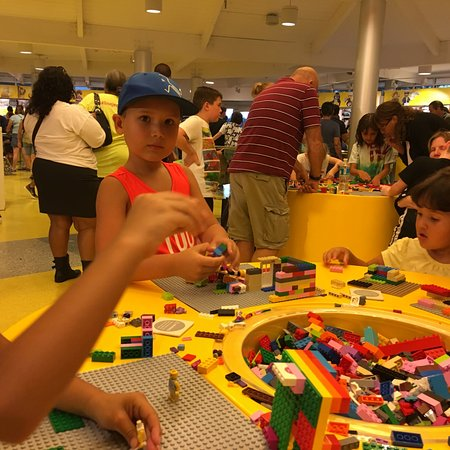 the lego store at