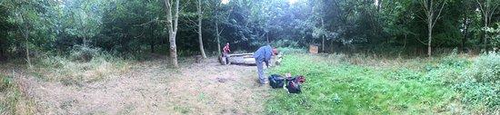Matchstick Wood Canoe Camping