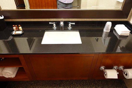Bathroom Vanity Sink Area Picture Of Sheraton Kansas City Hotel At Crown Center Tripadvisor