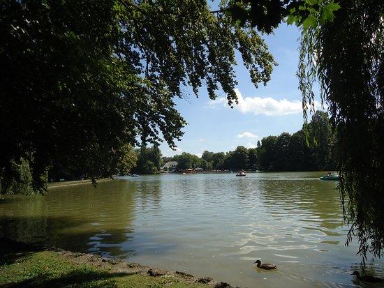 See Im Englischen Garten Bild Von Englischer Garten München