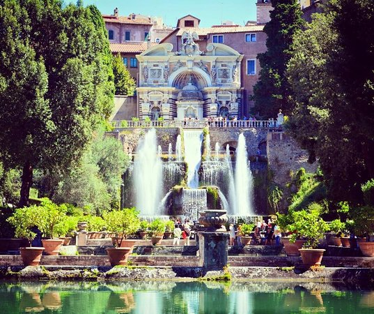 Villa DEste Tivoli  Picture of Star Limousine Rome Rome
