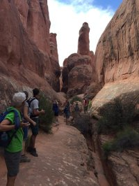 Fiery Furnace tour - Picture of Fiery Furnace, Arches ...