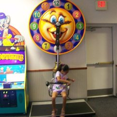 Swing Chair Game Office Lumbar Support The Areas And Ride 2 Tokens Picture Of Chuck E Cheese S