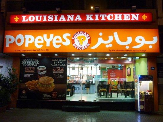 Popeyes Louisiana Kitchen Duba  2nd of December St Al Hudaiba  Restaurant Avis  Photos