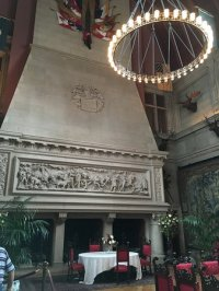 Dining room fireplace - Picture of Biltmore Estate ...