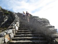 Trekking the stairway trail (rocks included) - Picture of ...
