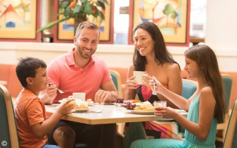 Image result for family eating at a restaurant