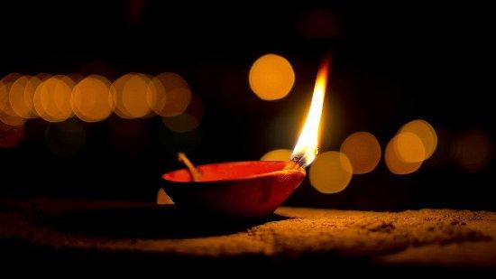 happy diwali diya hd