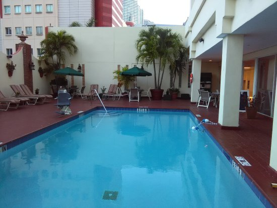 enclosed pool area picture