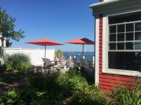 View of patio - Picture of The Red Inn Restaurant ...