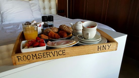 room service  Picture of Hotel New York Rotterdam