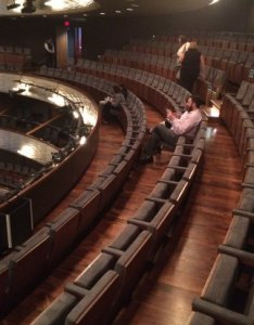 Winspear opera house rd floor balcony seating right also picture of rh tripadvisor