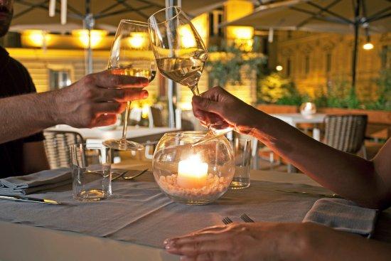 aperitivo in terrazza  Foto di Fiore Cucina Flexiteriana