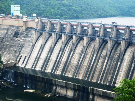 Telugu Agricultural News - Srisailam Dam Gates Closed