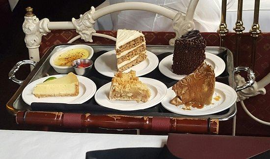 Dessert tray  Picture of Charleys Steak House  Market