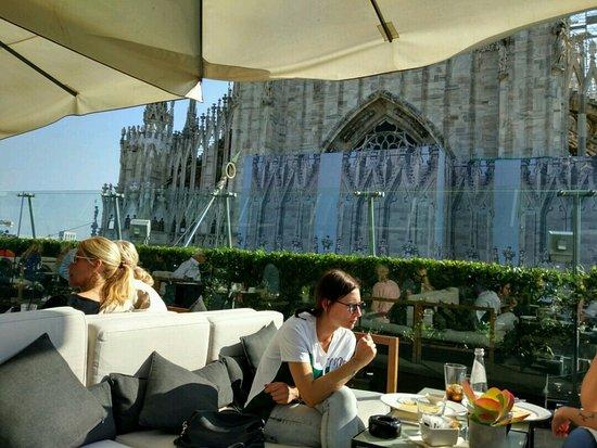Il bar terrazza Rinascente  Picture of Il Bar Milan