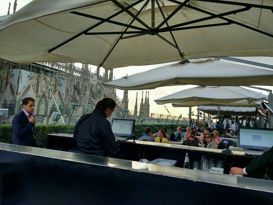 Il bar terrazza Rinascente  Foto di Il Bar Milano
