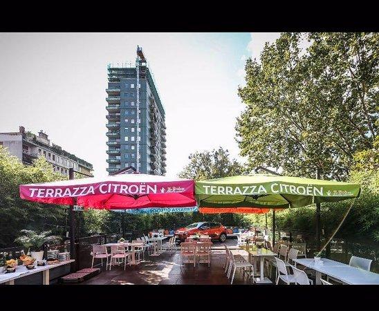 Terrazza Citroen by Zio Provolone presentazione della nuova c3  Foto di Zio Provolone Milano