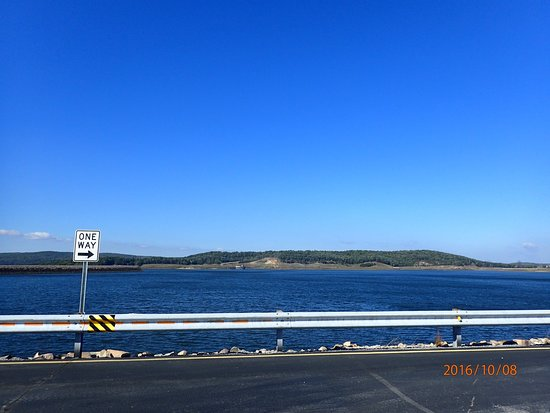 This was our first time up there so it was neat to check it out. View Of Tva Raccoon Mountain Reservoir Picture Of Raccoon Mountain Dam Chattanooga Tripadvisor
