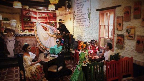 Hasta la Muerte tiene sed, y viene a degustar un rico pulque en La Tía Yola  - Picture of Pulqueria La Tia Yola, Tlaxcala - Tripadvisor
