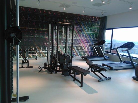 Fitnessruimte  Foto Van Van Der Valk Hotel Enschede