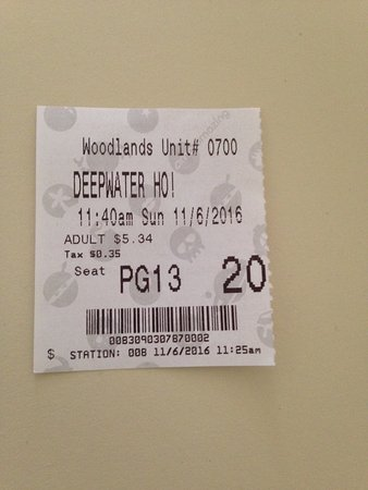 cinema ticket picture of