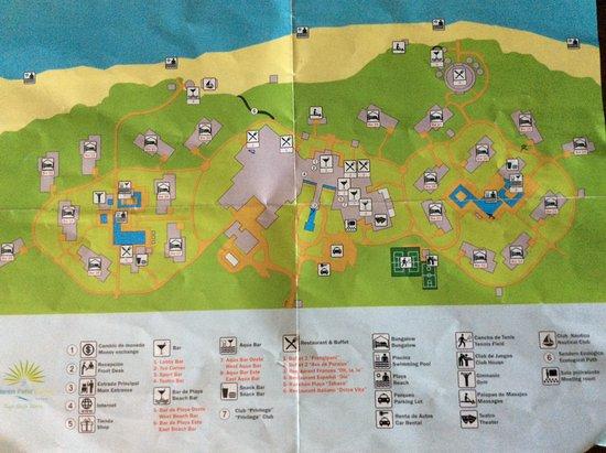 Hotel Map Picture Of Valentin Perla Blanca Cayo Santa
