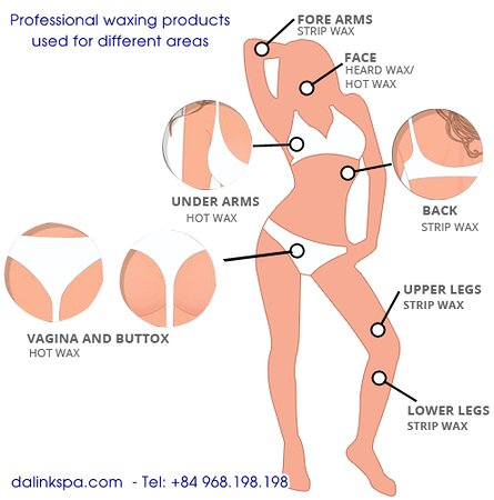 different types of waxing for different areas picture of dalink spa hanoi tripadvisor