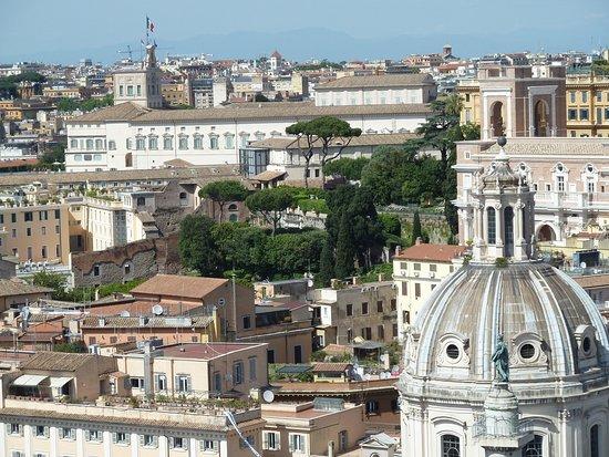 Roma dal Cielo Terrazza delle Quadrighe  Bild frn Roma