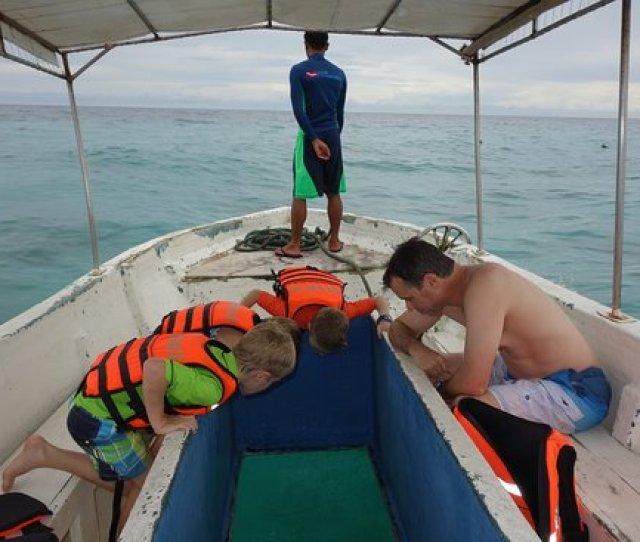 Bohol Beach Club Free Glass Bottom Boat Tour