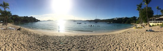panorama beach shot picture