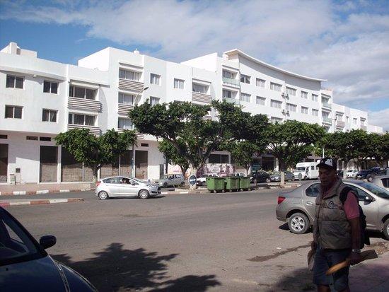 Hoteleingang Picture Of Residence Amwaj Agadir Tripadvisor