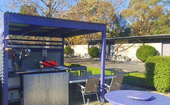 outdoor kitchen bbq stainless steel accessories facilities picture of meeniyan motel