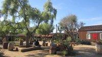 Vista del patio donde est el restaurante - Picture of El ...