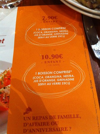 tarif picture of le grand buffet