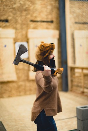 the perfect axe throwing