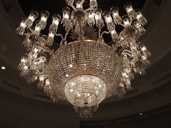 The Oberoi Amarvilas A Massive Chandelier That Says It All