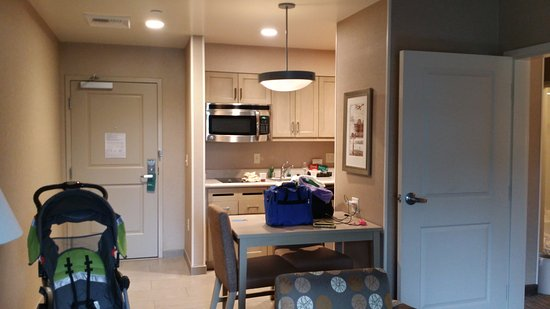 Kitchen Area Of Suite Picture Of Homewood Suites By