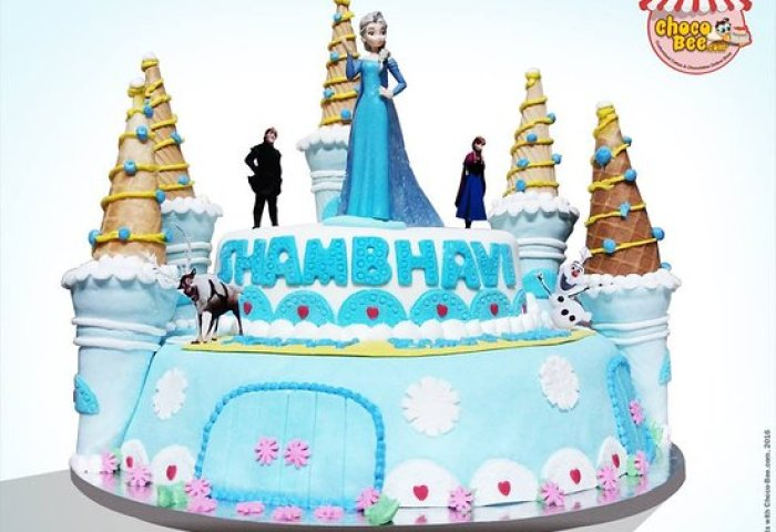 Castle Cake For Her Picture Of Choco Bee Noida Tripadvisor