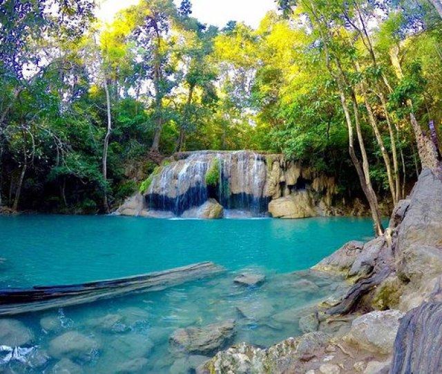 Erawan Falls Amazing Naturals Pool